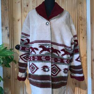 Denali North Face reversible fleece jacket